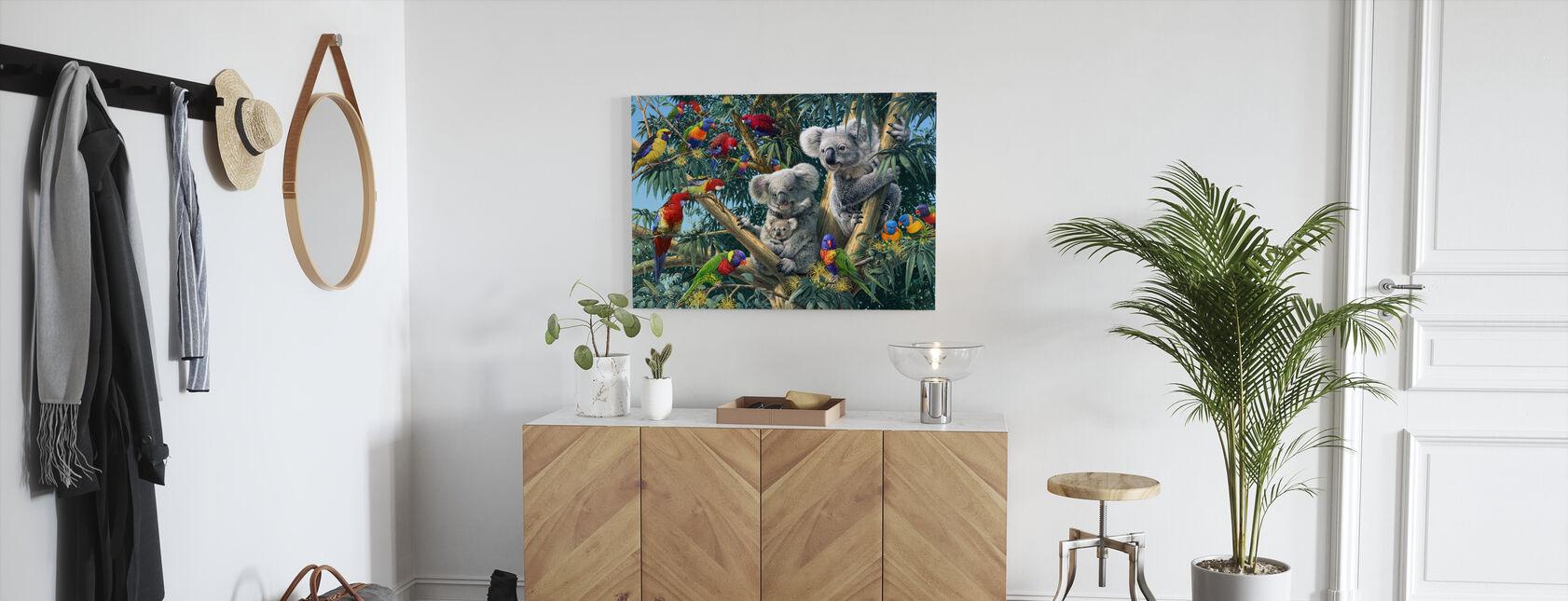 Koala Outback - Canvas print - Hallway