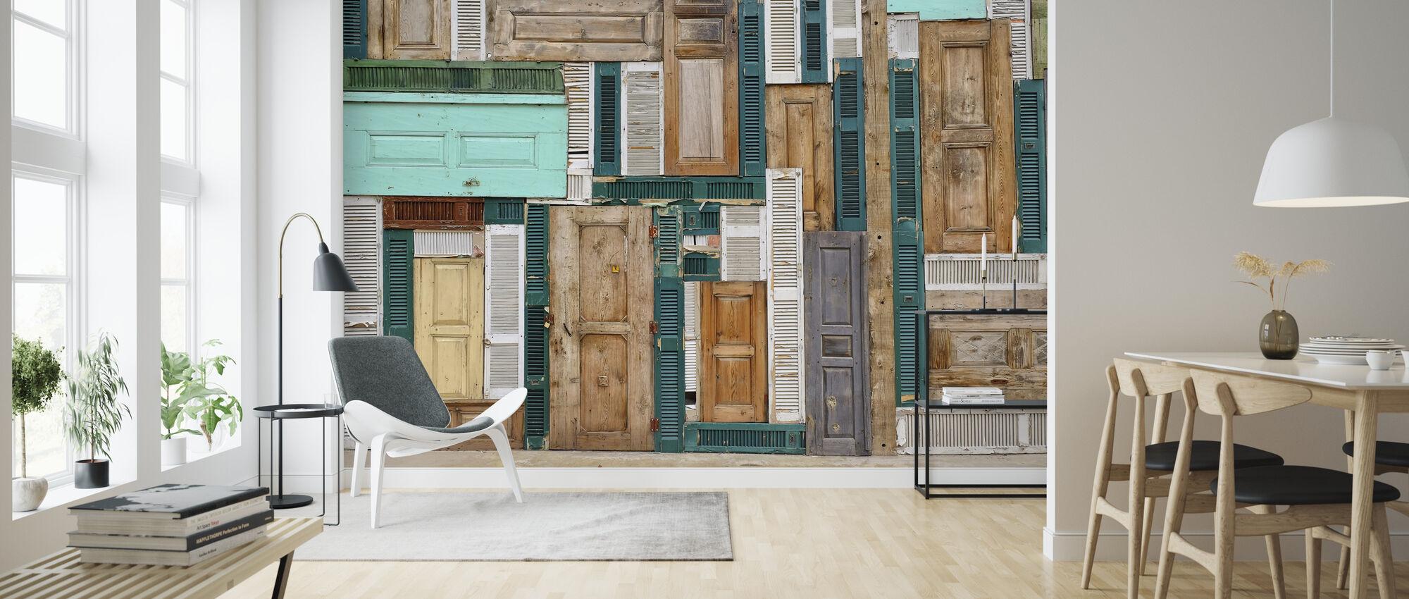 The Doors - Wallpaper - Living Room