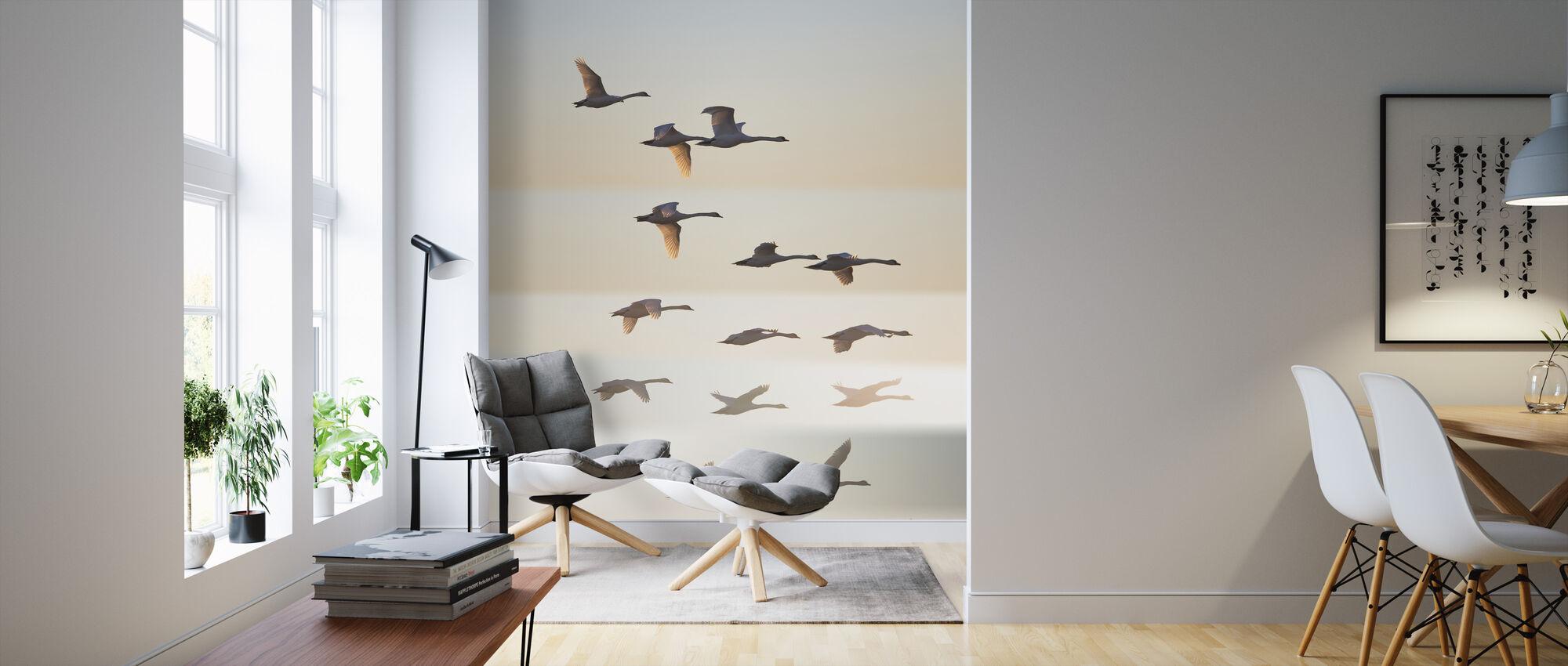 Past the Sun - Wallpaper - Living Room