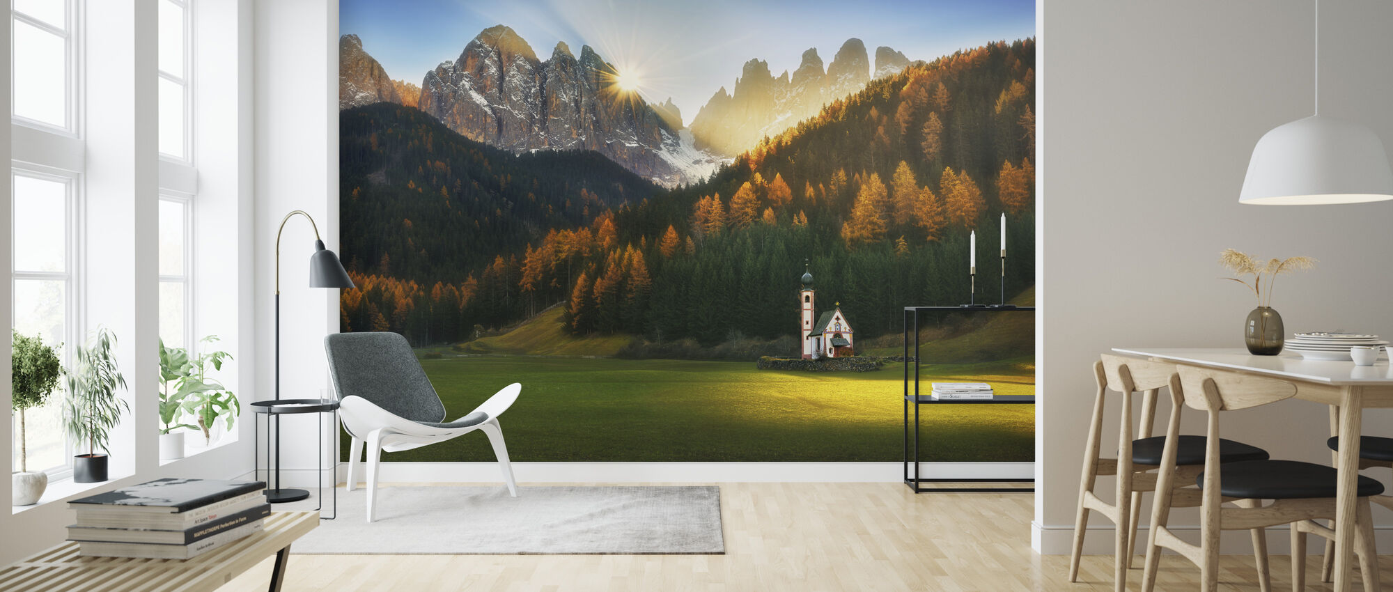 Santa Maddalena - Wallpaper - Living Room