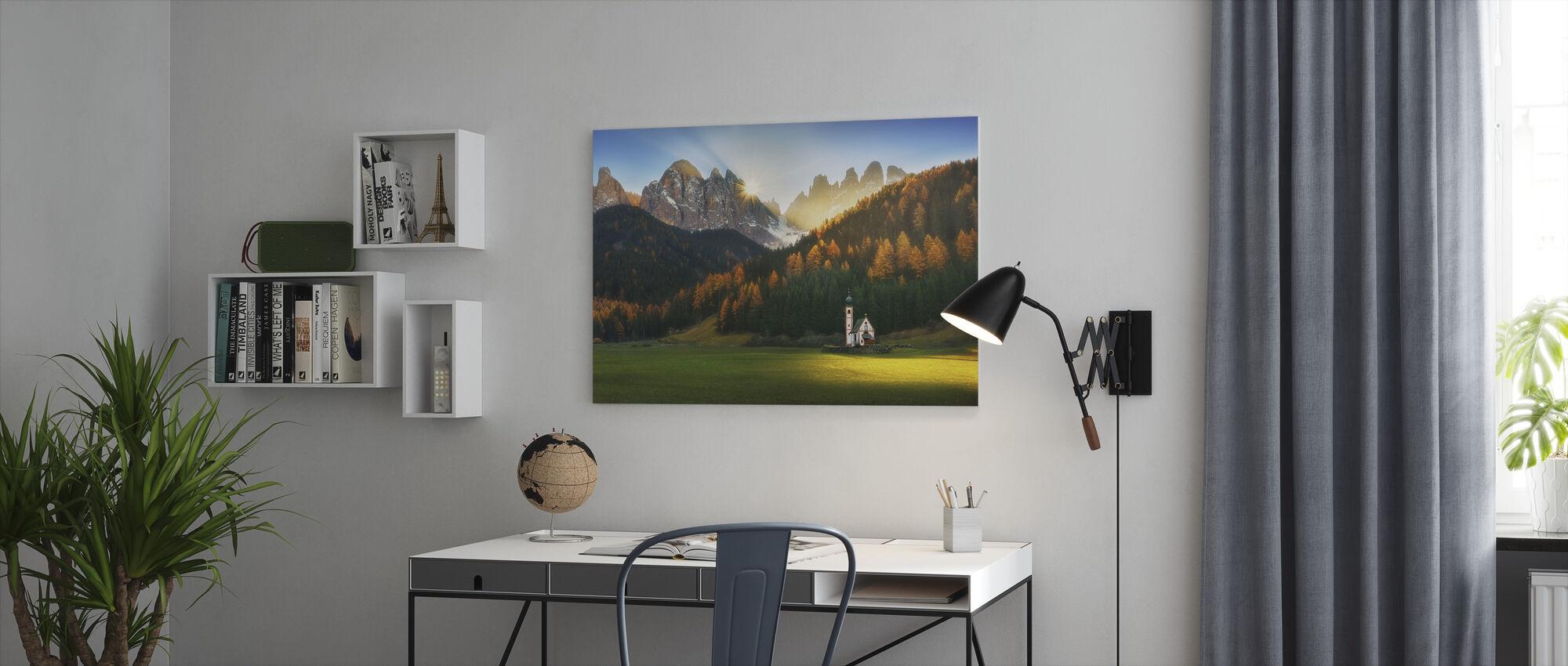 Santa Maddalena - Canvas print - Office