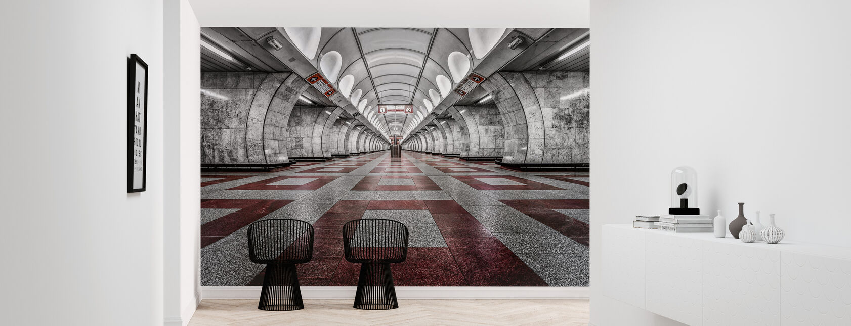 Prague Metro - Wallpaper - Hallway