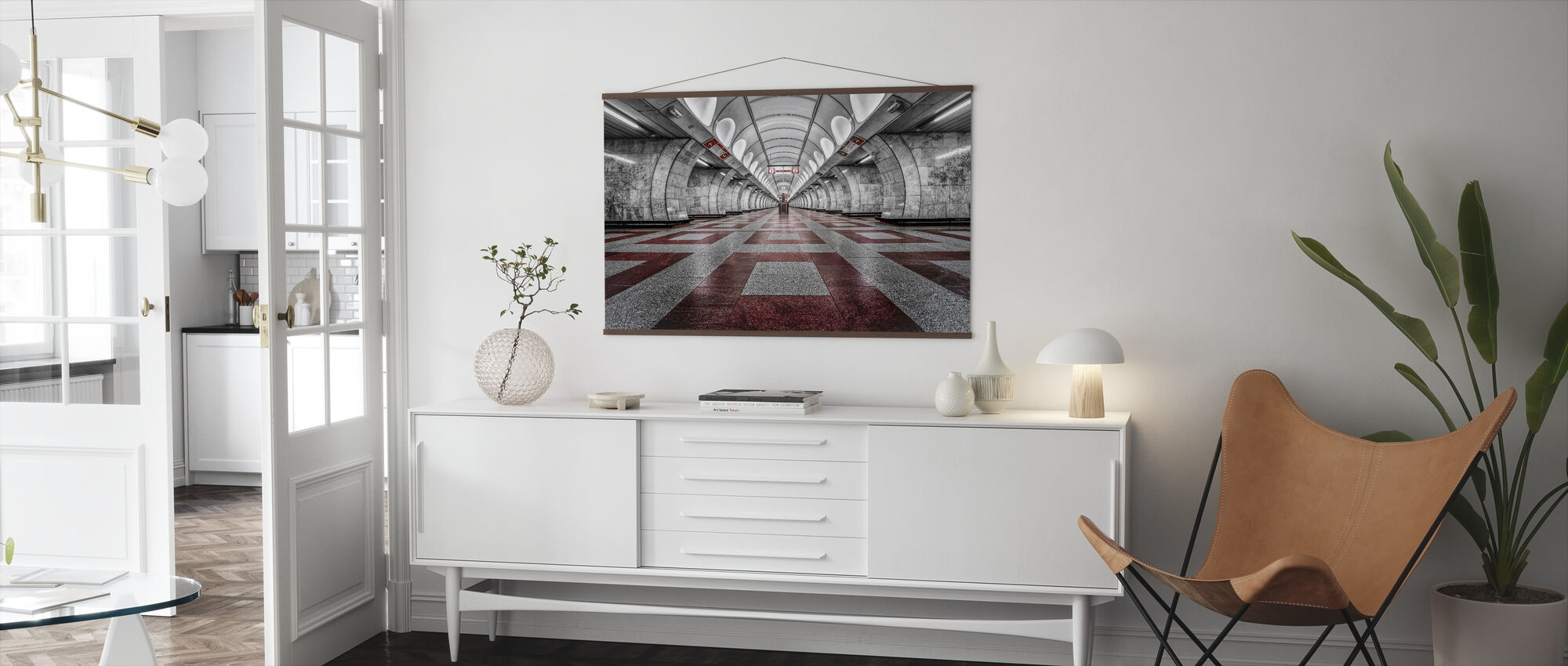 Prague Metro - Poster - Living Room
