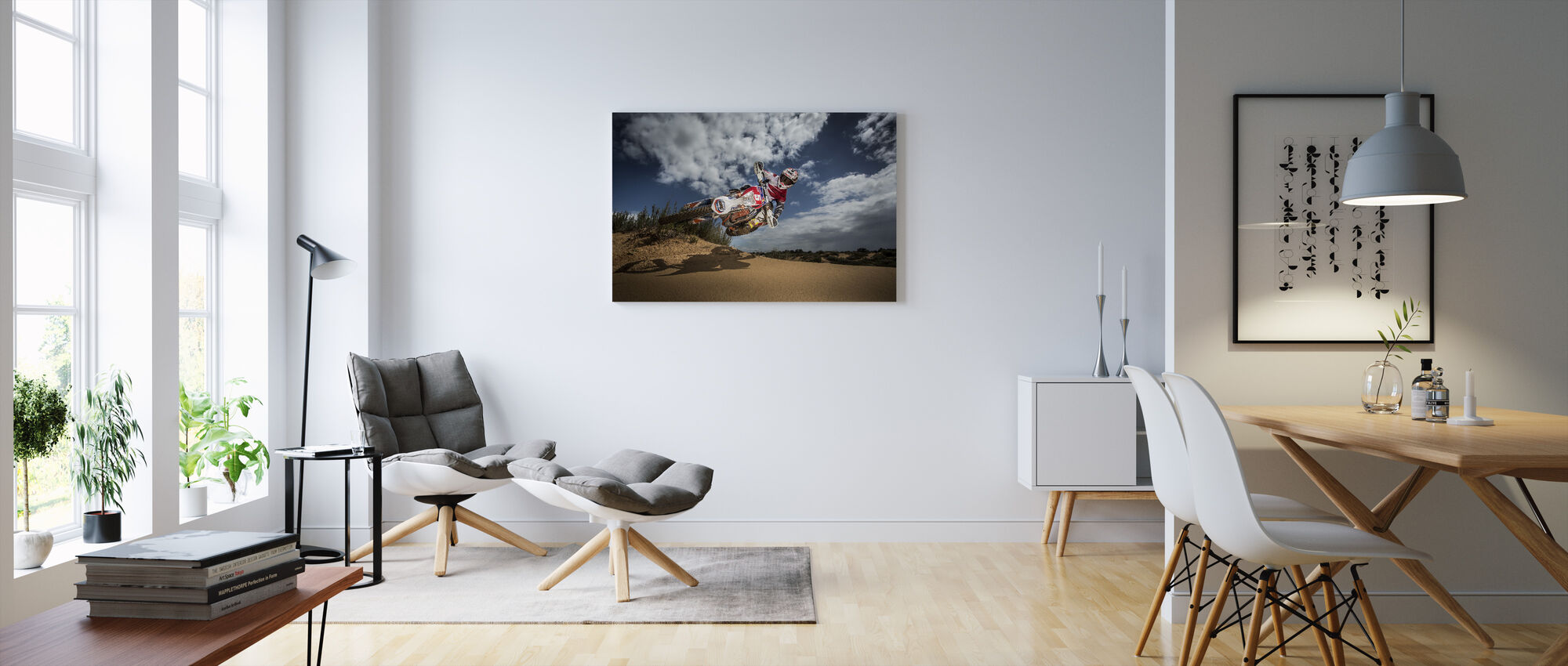 Knocked up - Canvas print - Living Room