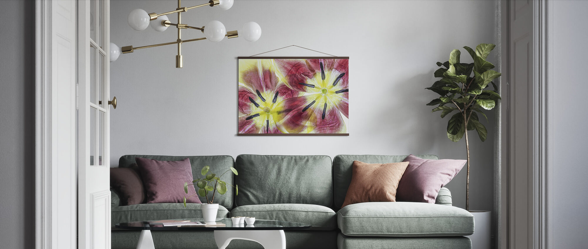 Tulips - Poster - Living Room
