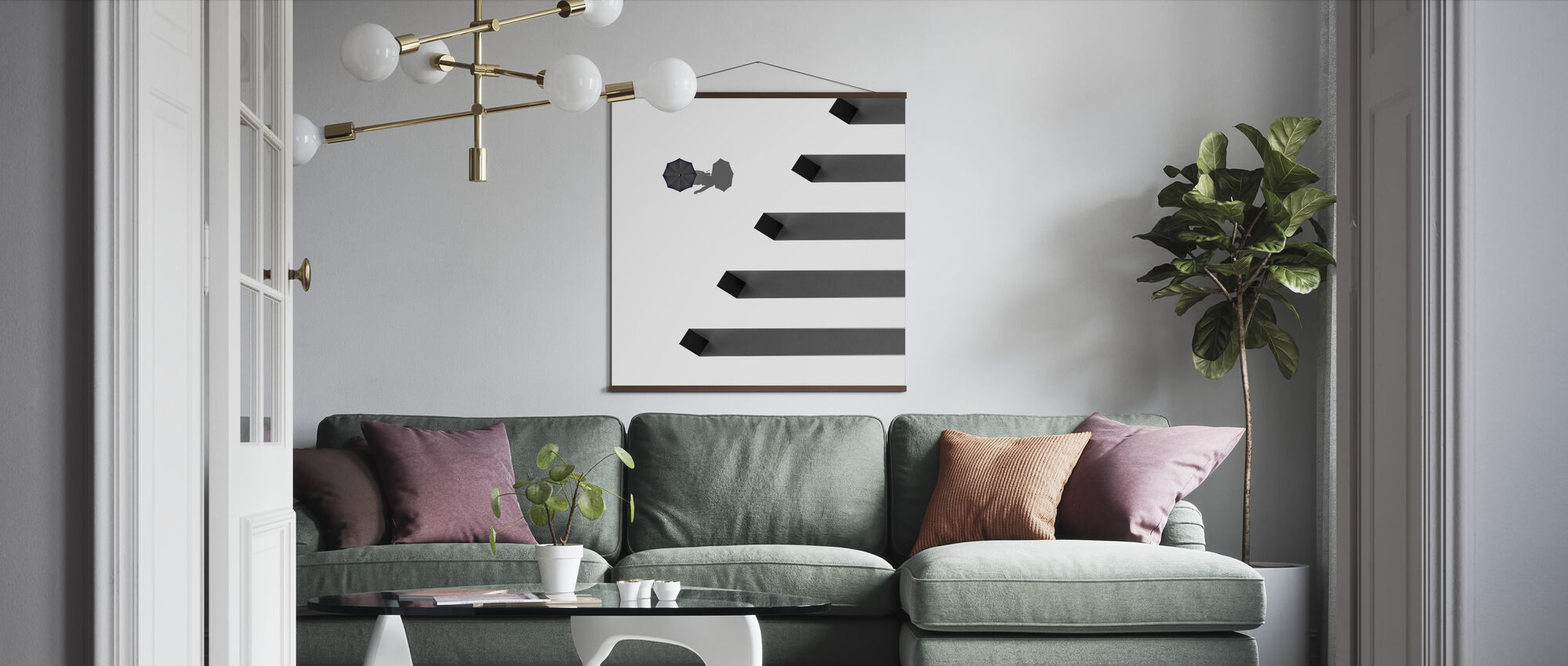 Shadows - Poster - Living Room