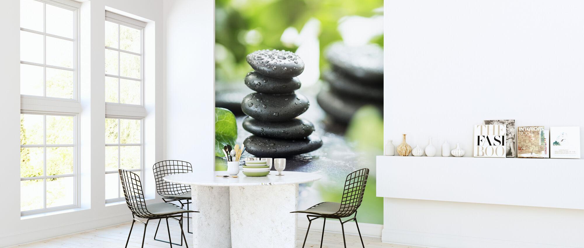 Zen Pebbles - Tapet - Kök