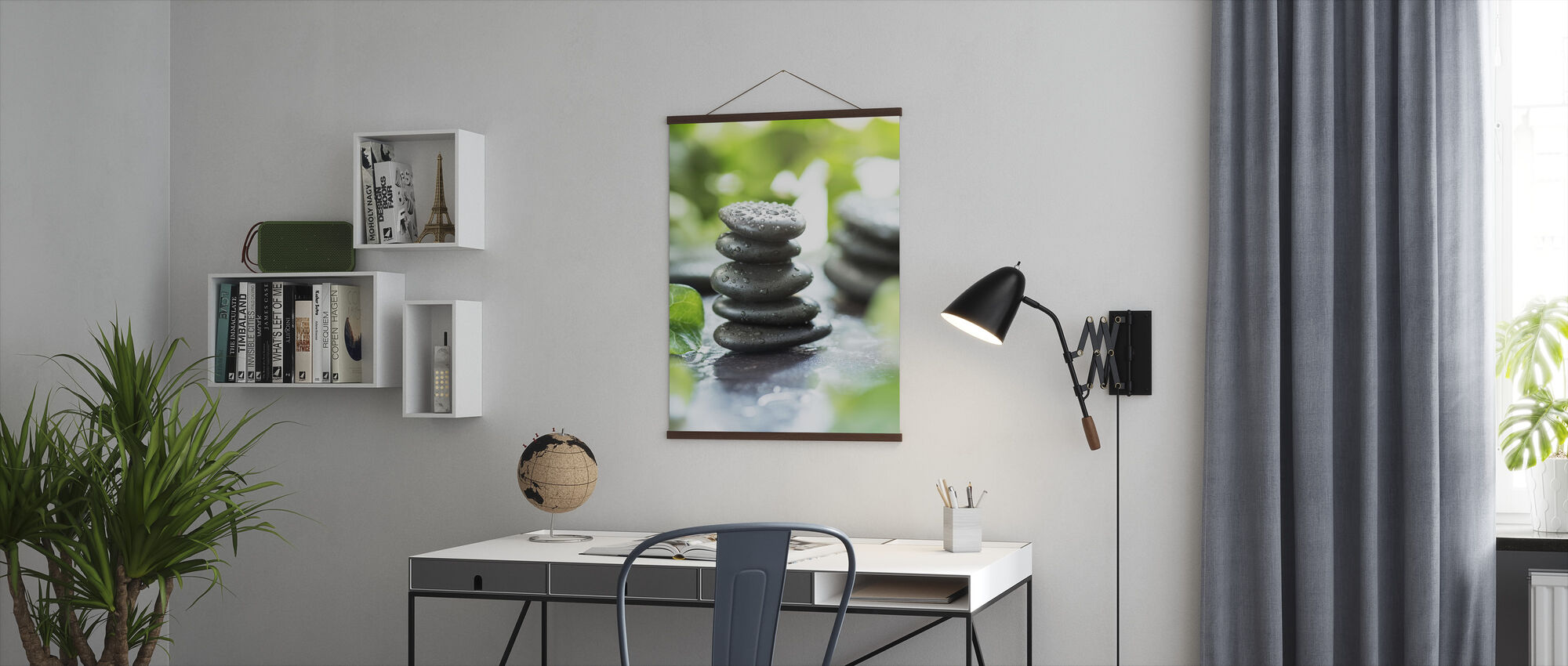 Zen Pebbles - Poster - Office
