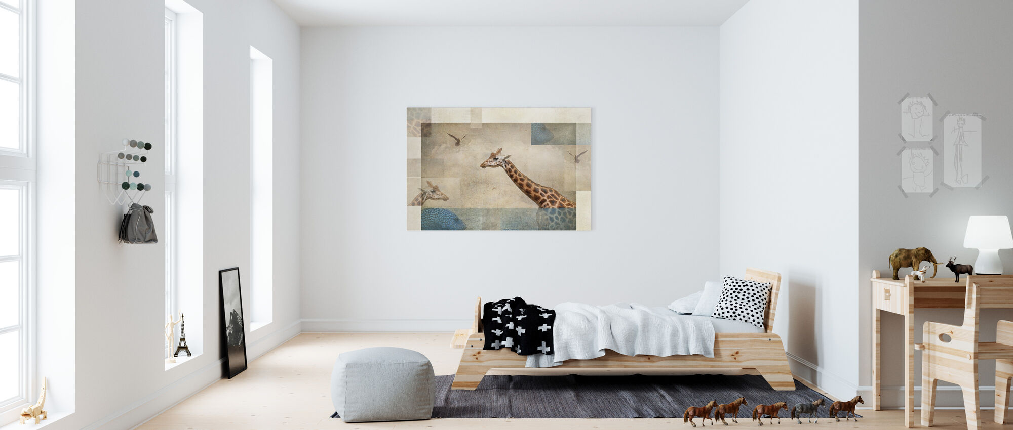 Fantasie - Canvas print - Kinderkamer