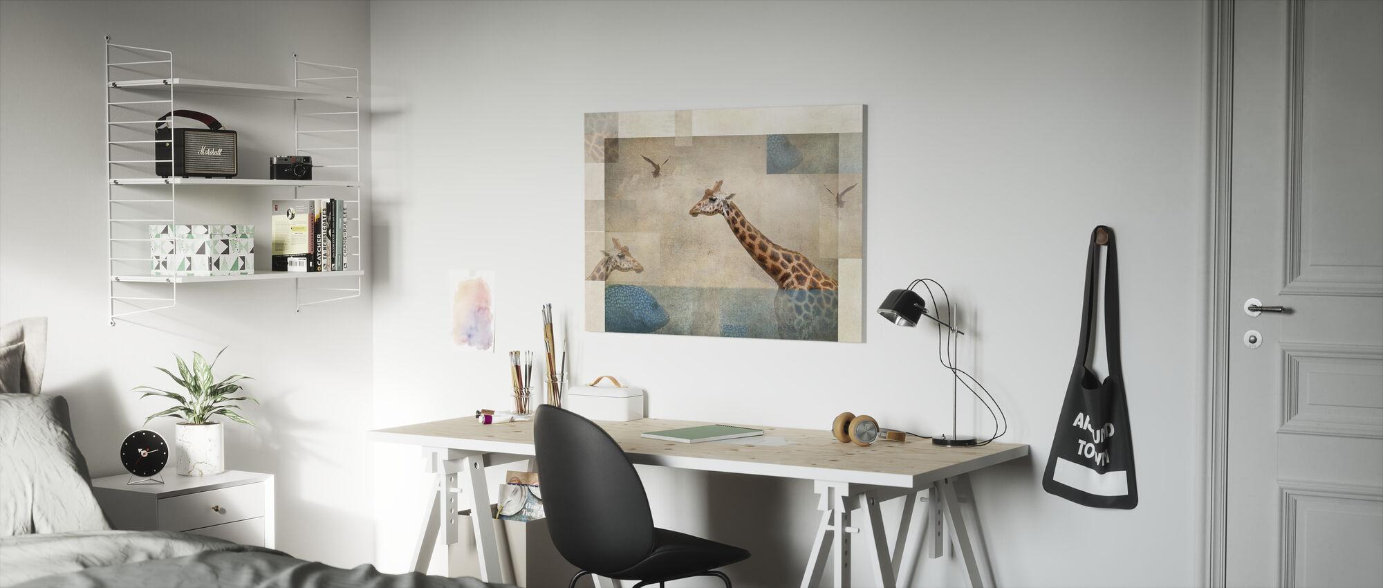 Fantasie - Canvas print - Kinderkamer