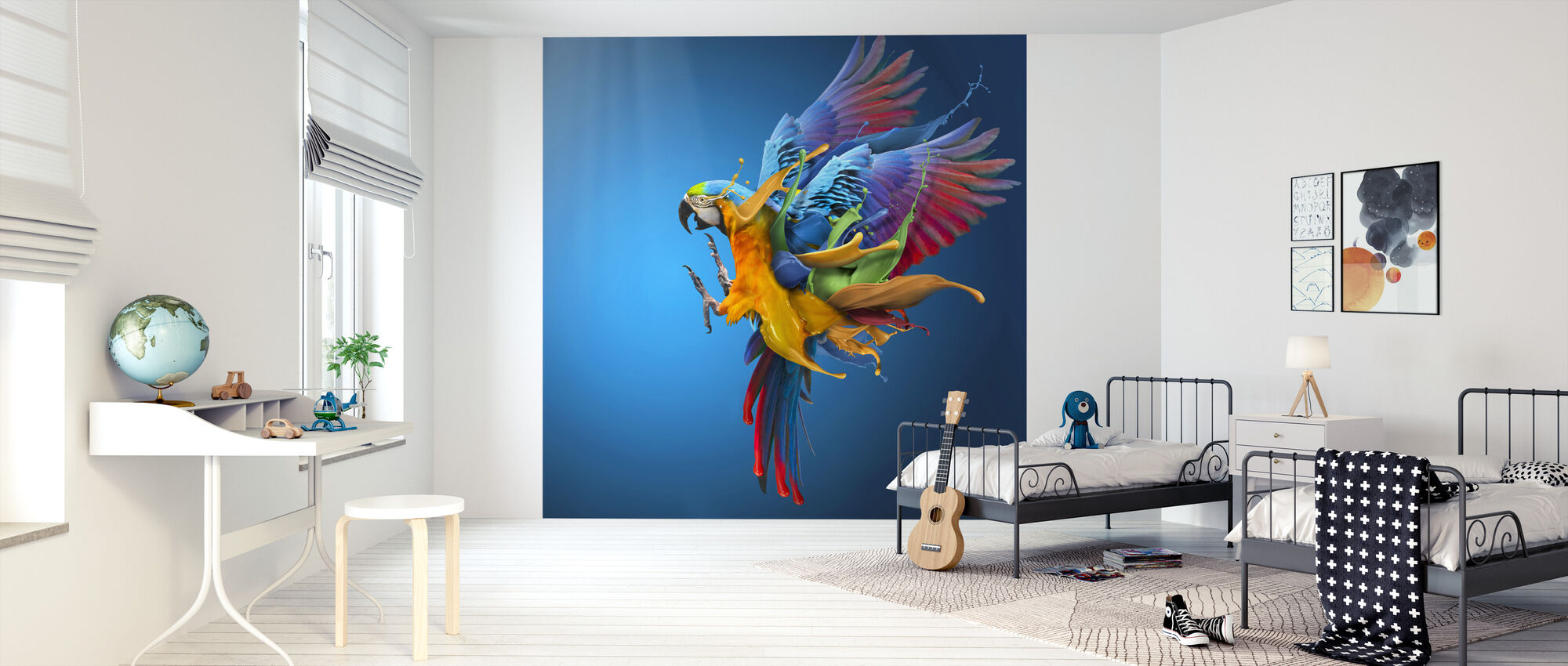 Flying Colours - Wallpaper - Kids Room