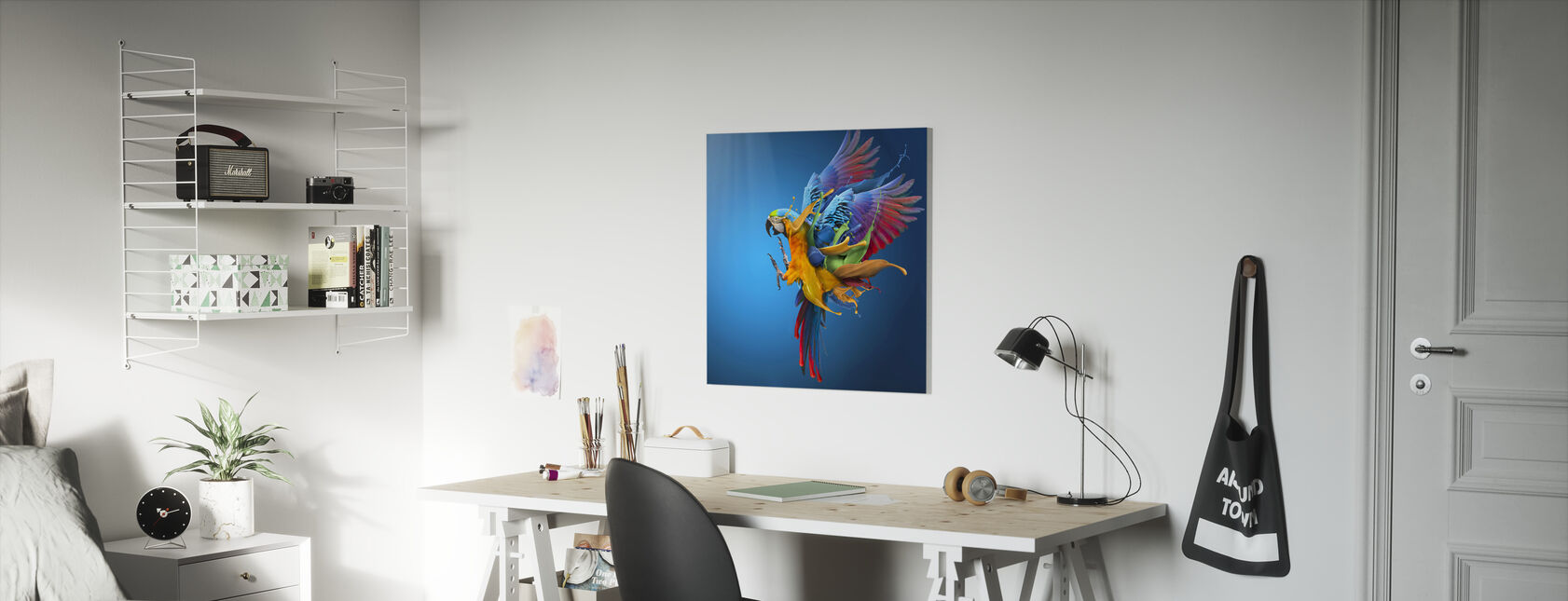 Flying Colours - Canvas print - Kids Room