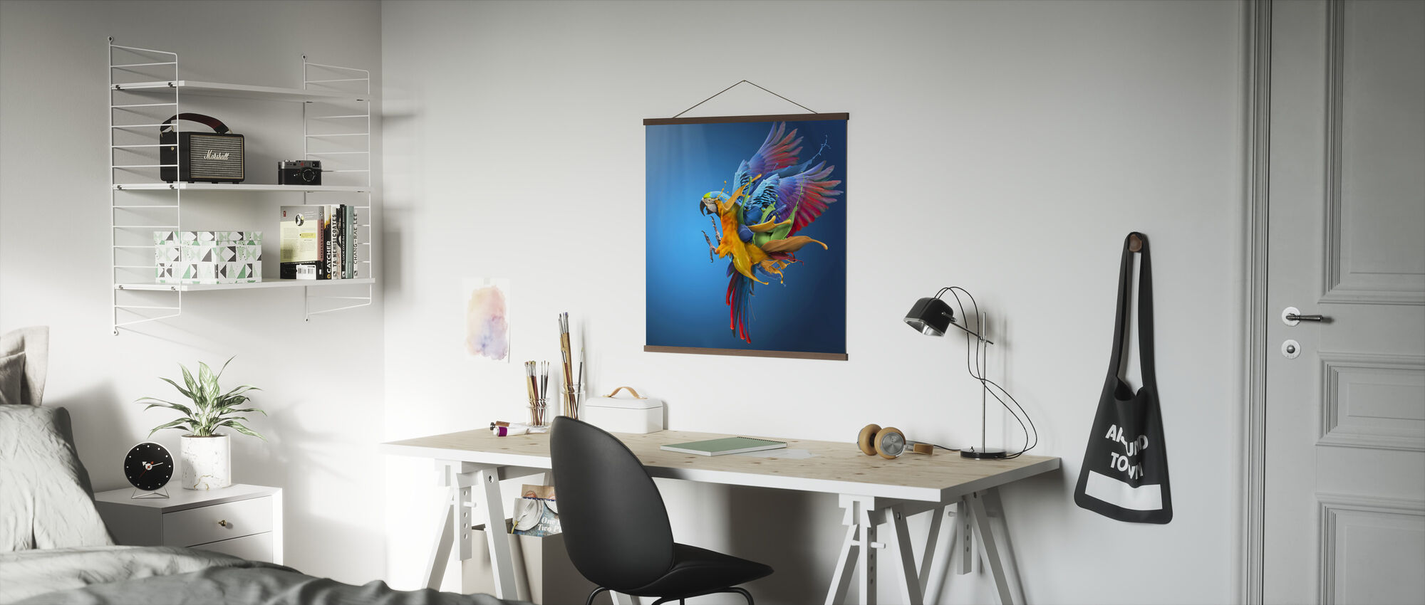 Flying Colours - Poster - Office