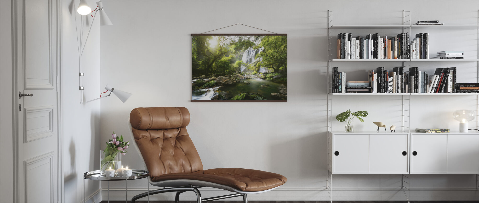 Mountain Stream - Poster - Living Room