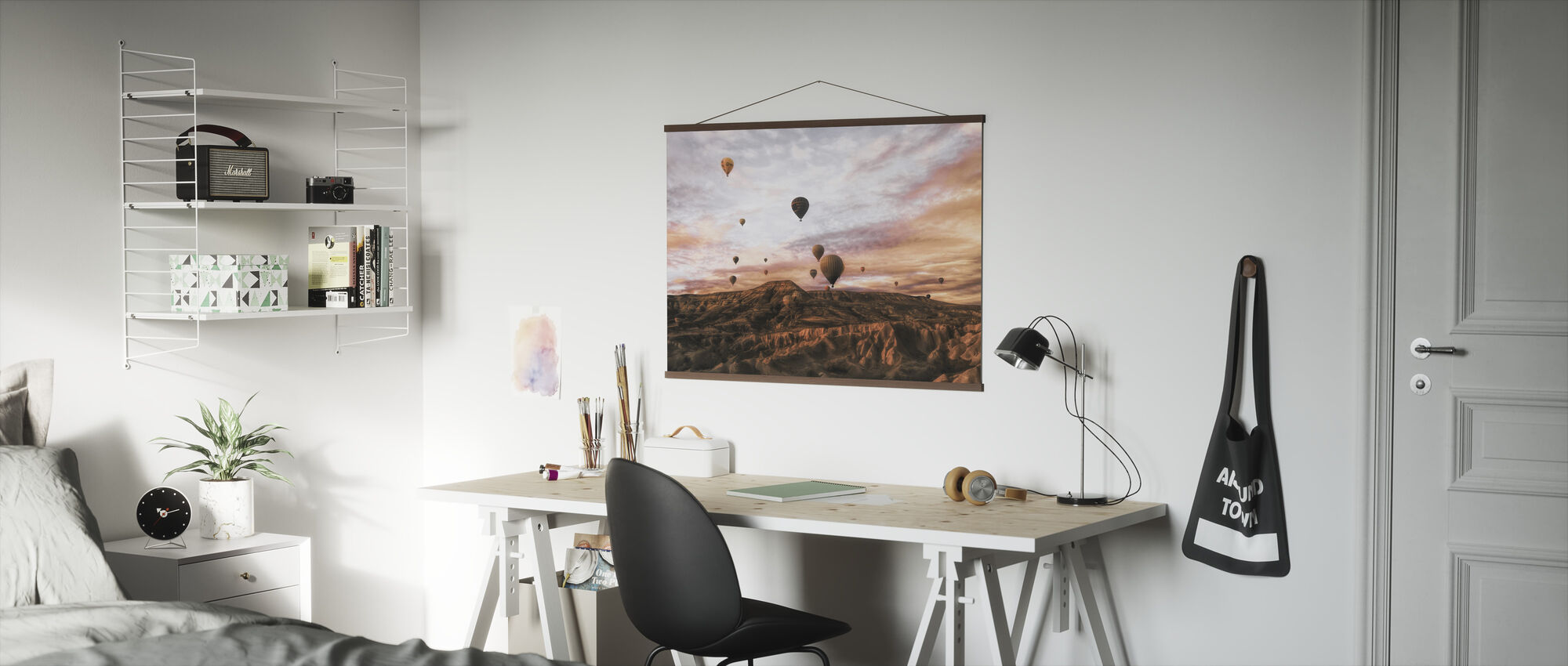 Cappodocia Hot Air Balloon - Poster - Office