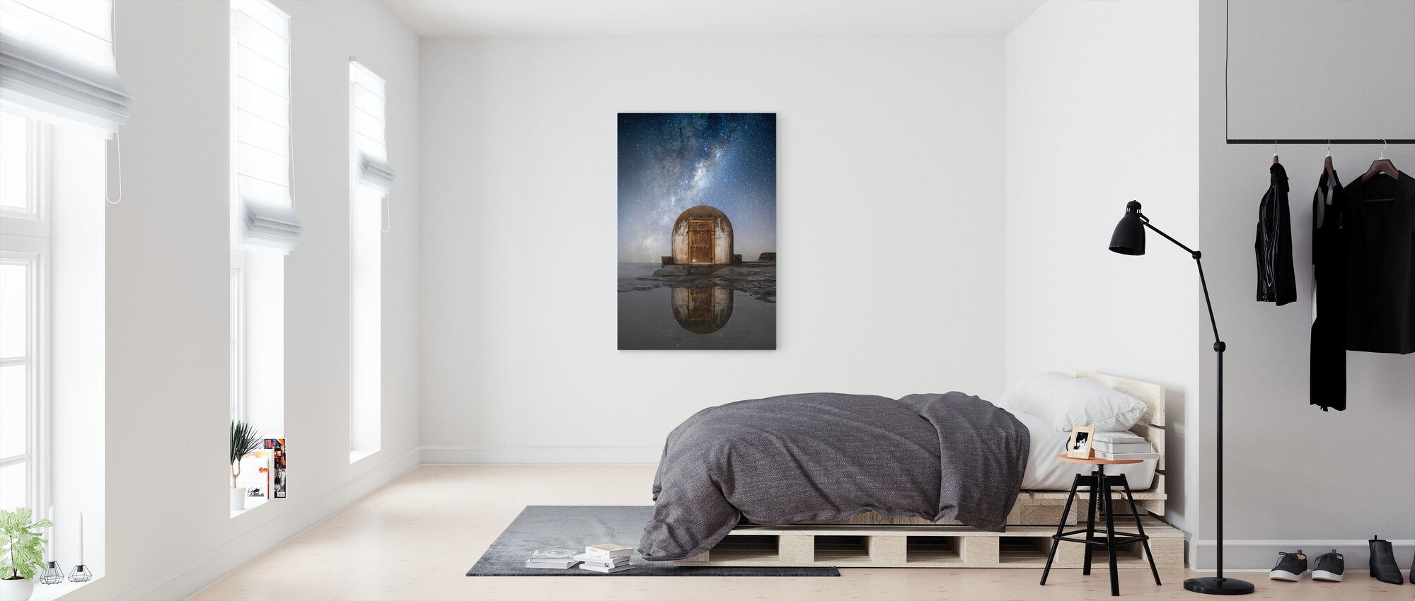 Lonely Hut - Canvas print - Bedroom