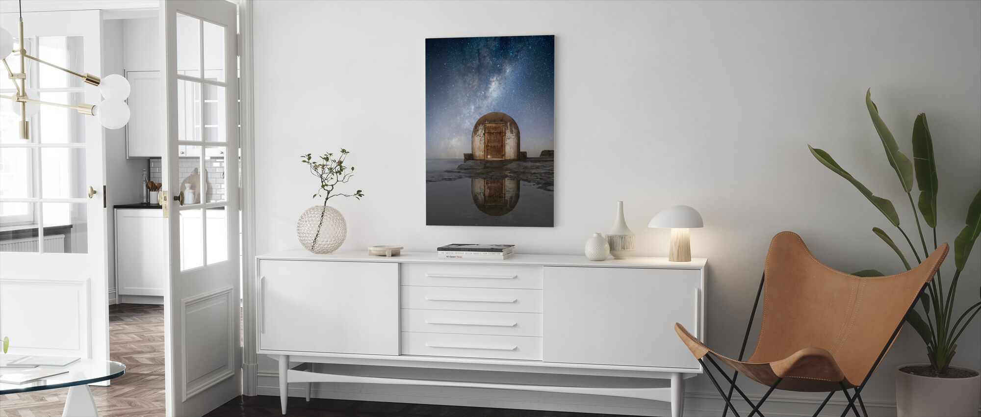 Lonely Hut - Canvas print - Living Room