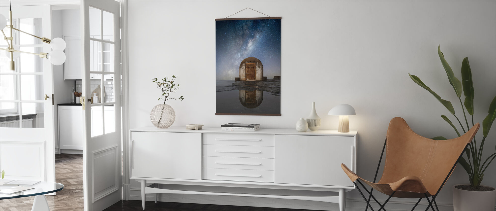 Lonely Hut - Poster - Living Room