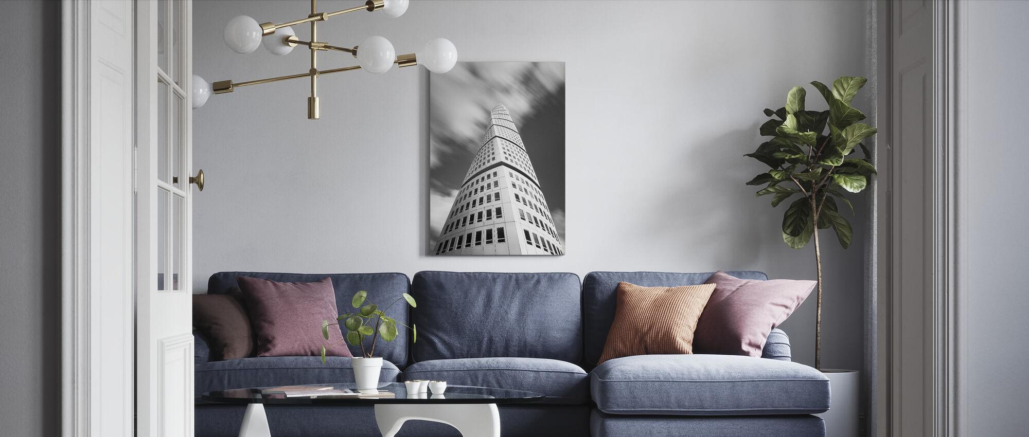 Modern Sweden - Canvas print - Living Room