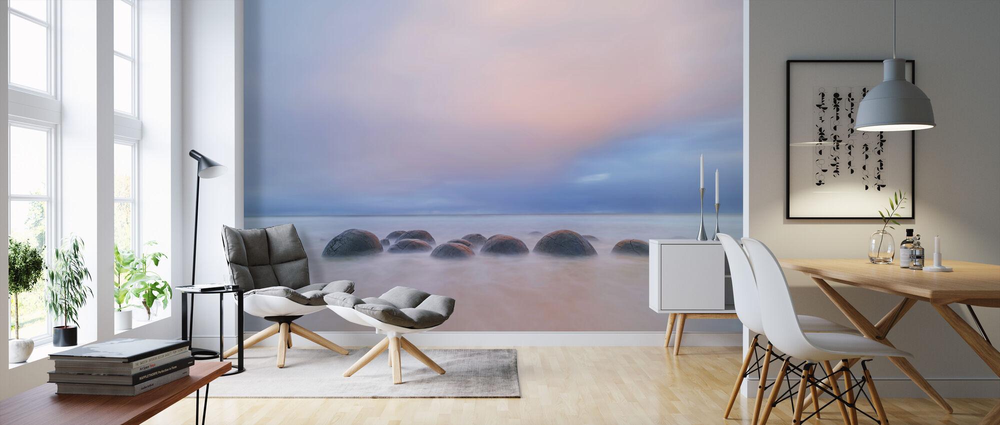 Moeraki Boulders - Wallpaper - Living Room