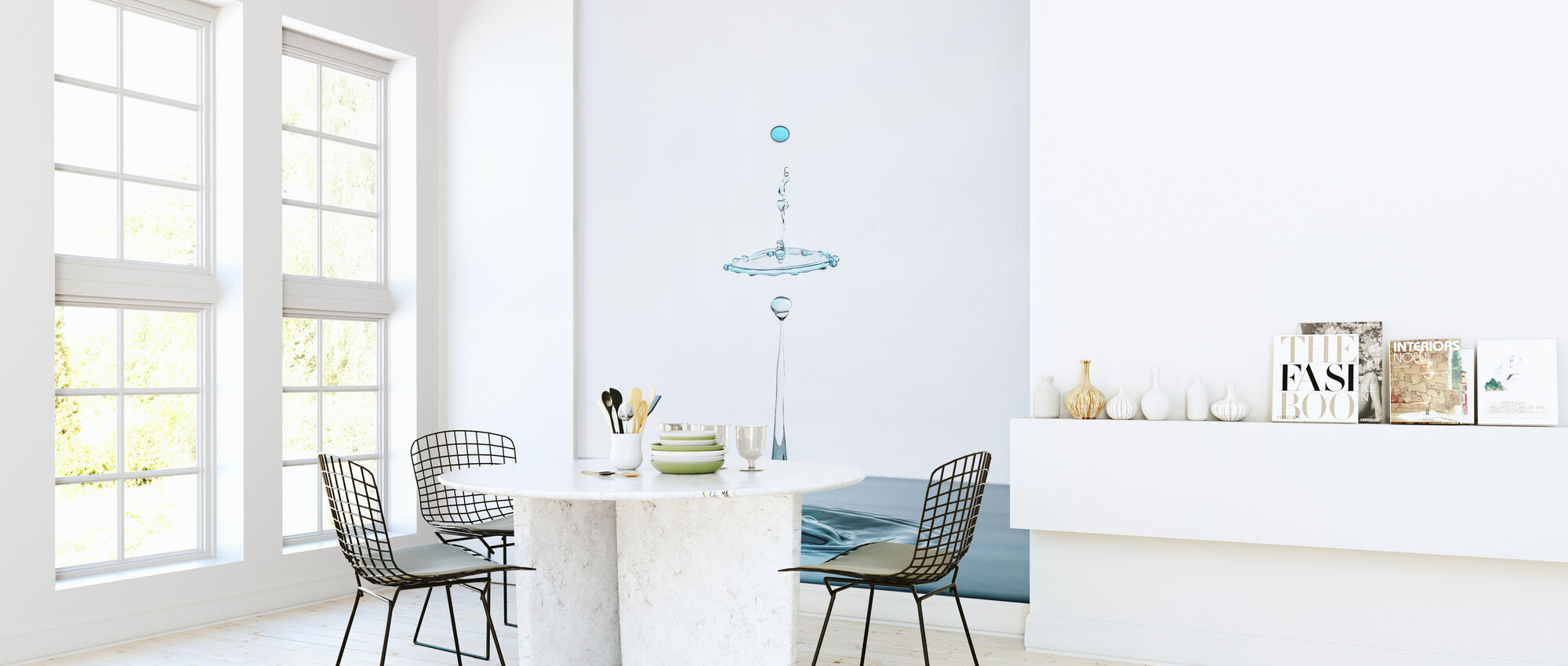 Drop - Wallpaper - Kitchen