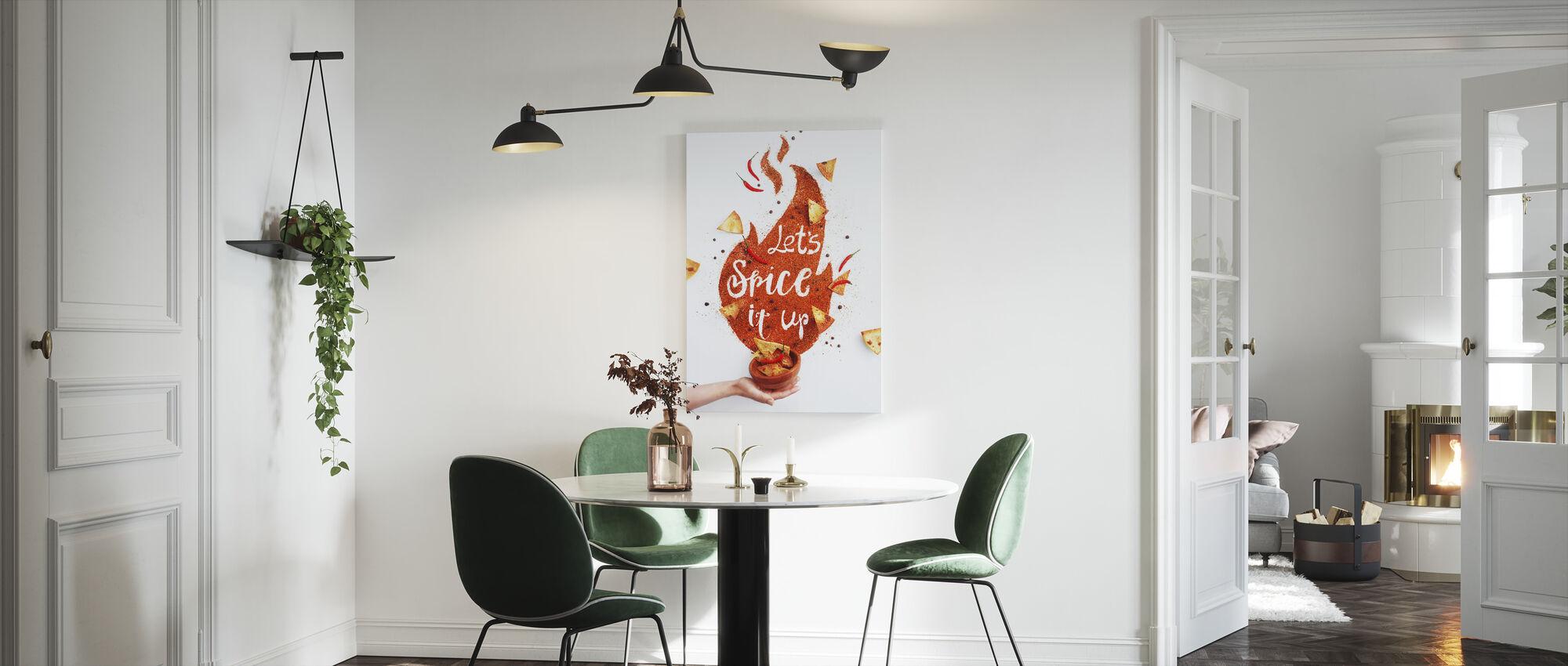 Spice it Up - Canvas print - Kitchen