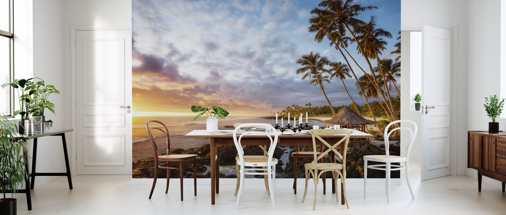 Return to Paradise - Wallpaper - Kitchen