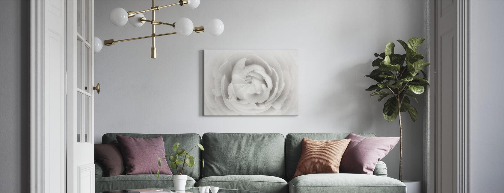 Ranunculus - Canvastaulu - Olohuone
