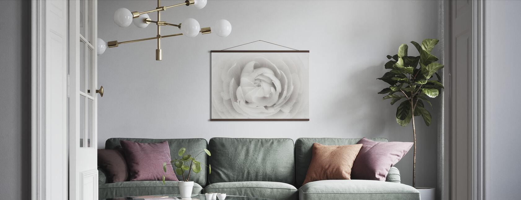 Ranunculus - Poster - Living Room