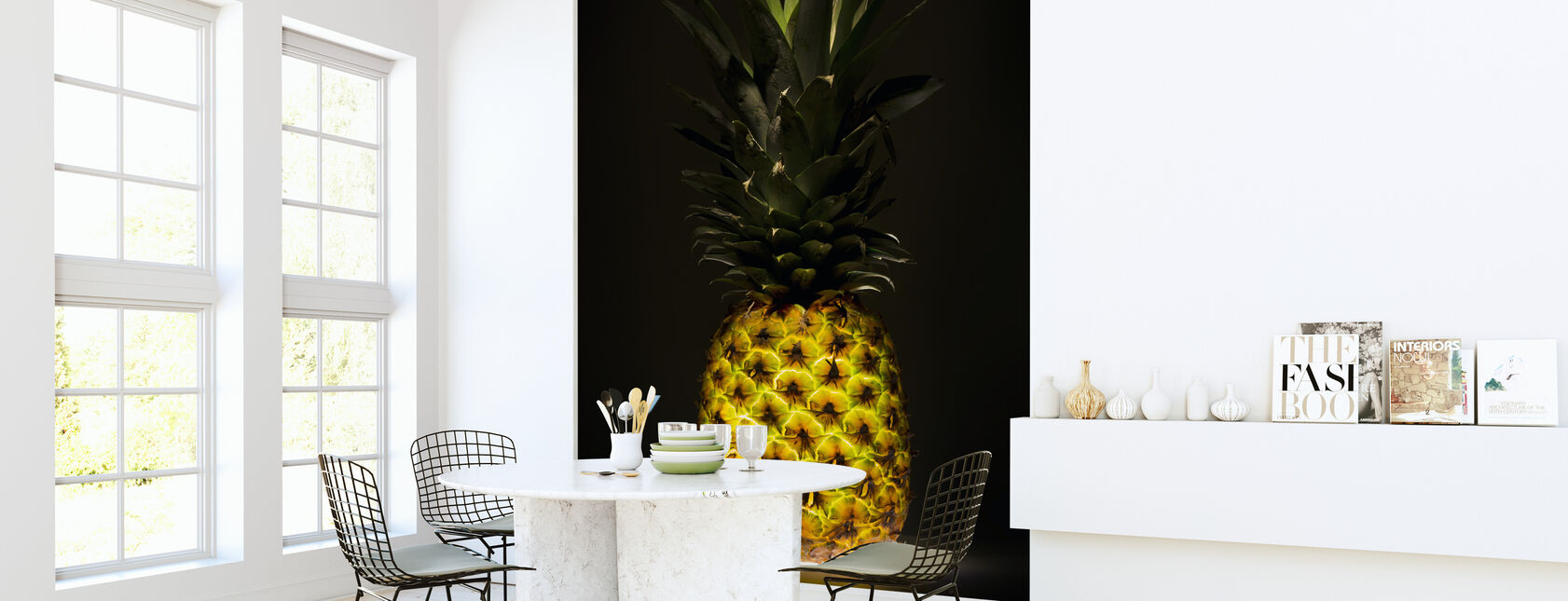 Pineapple - Wallpaper - Kitchen