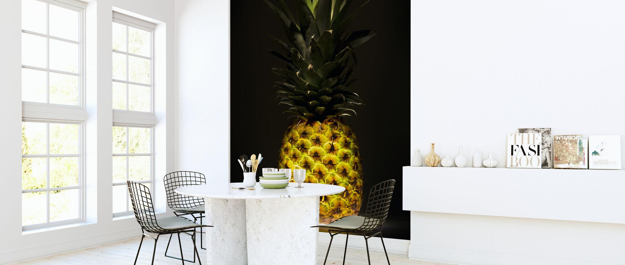 Pineapple - Wallpaper - Kitchen