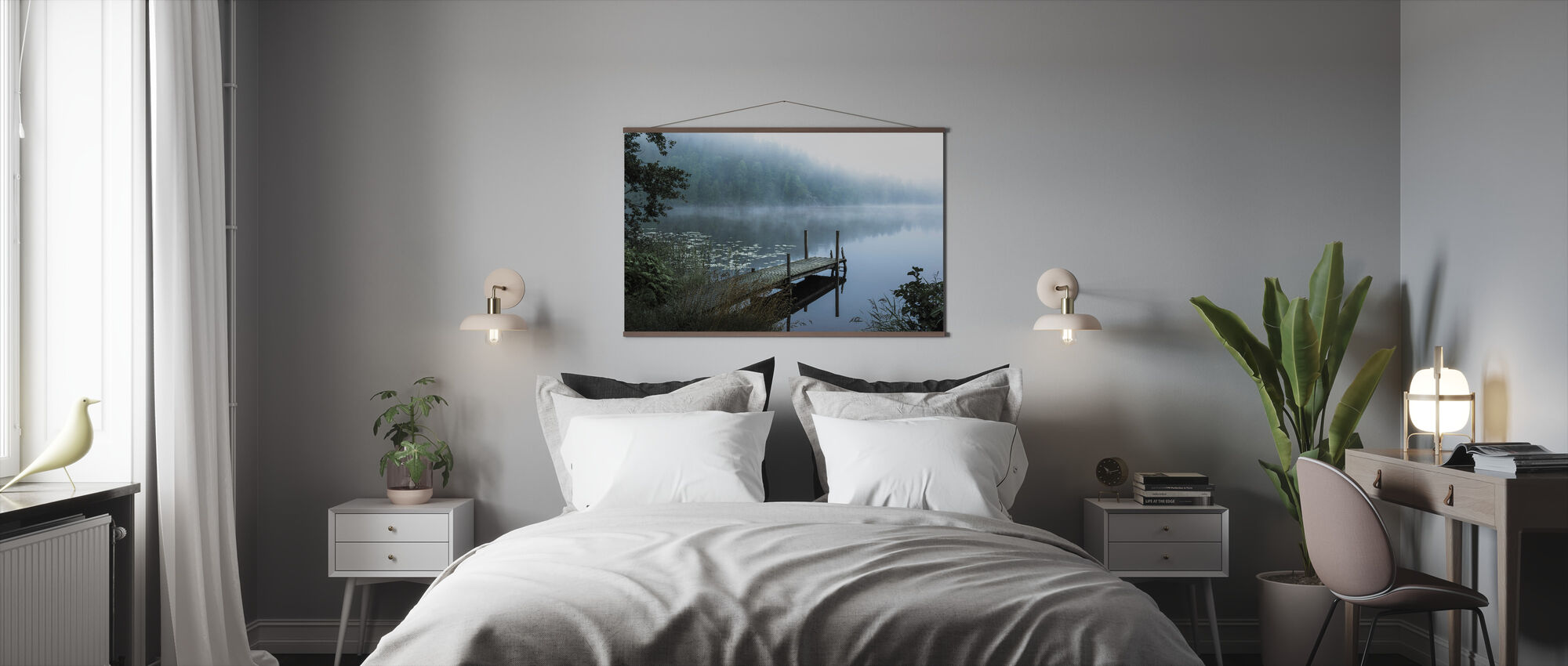 Moody Morning - Poster - Bedroom