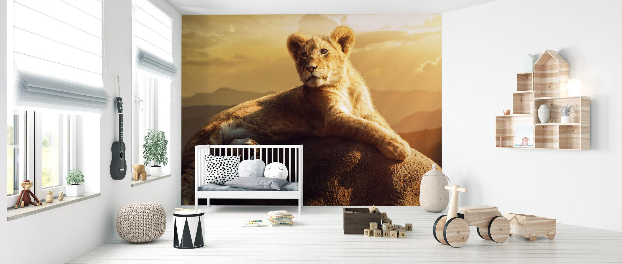 Den Gyldne Prince - Tapet - Babyværelse