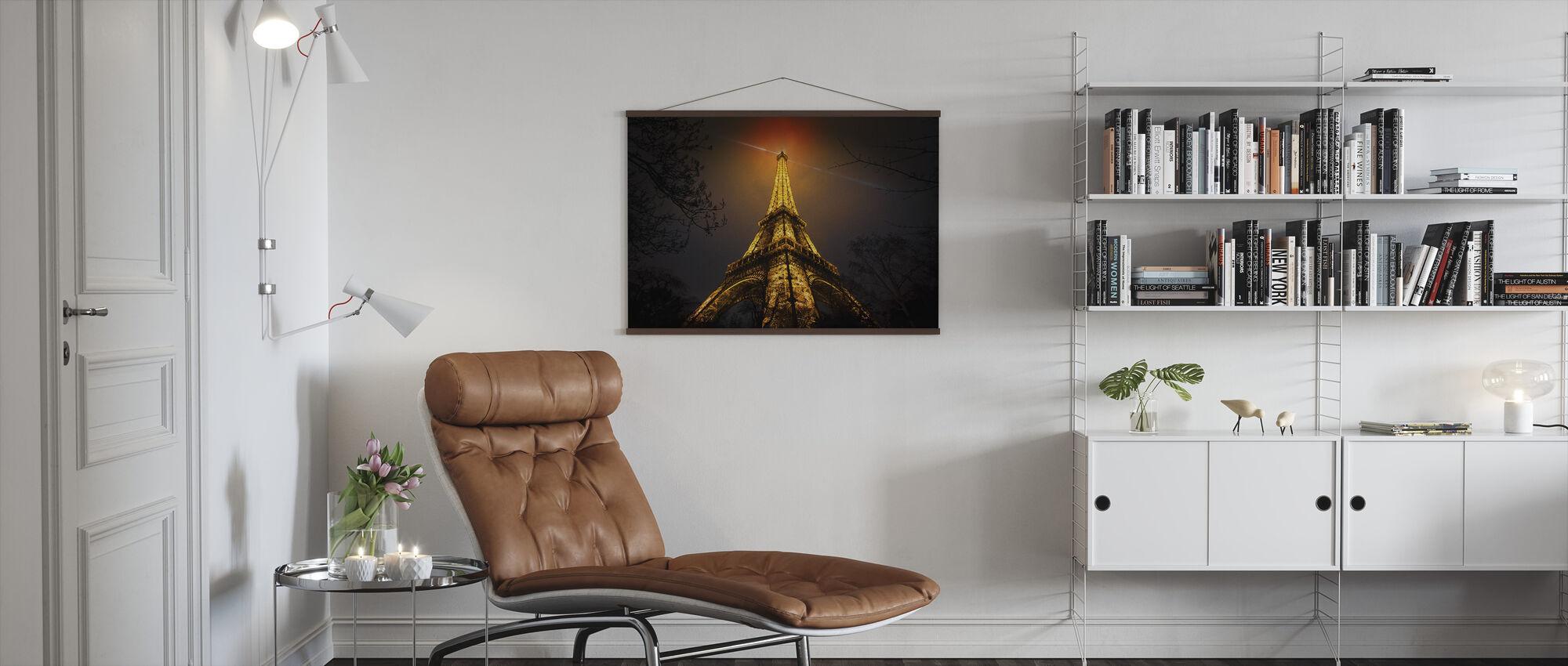 La Tour Eiffel - Plakat - Stue