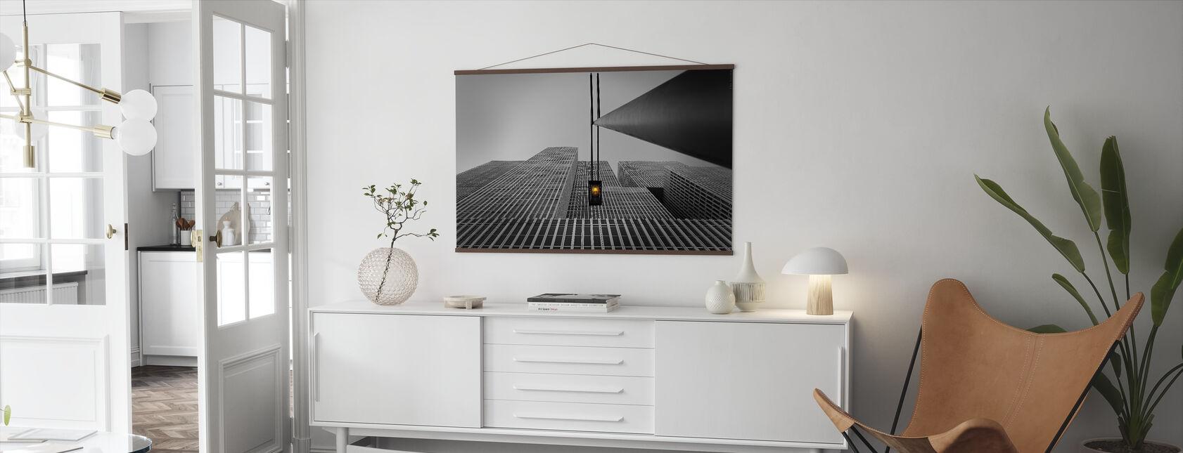 Yellow Light - Poster - Living Room