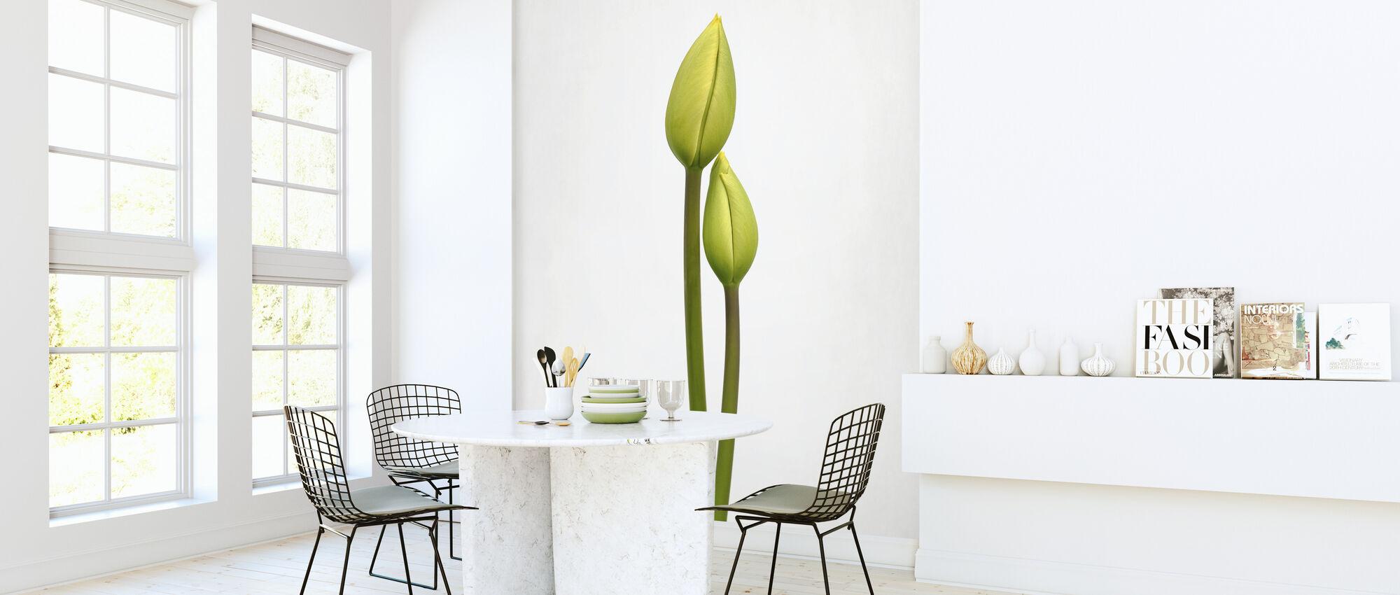 Tulip Time - Wallpaper - Kitchen