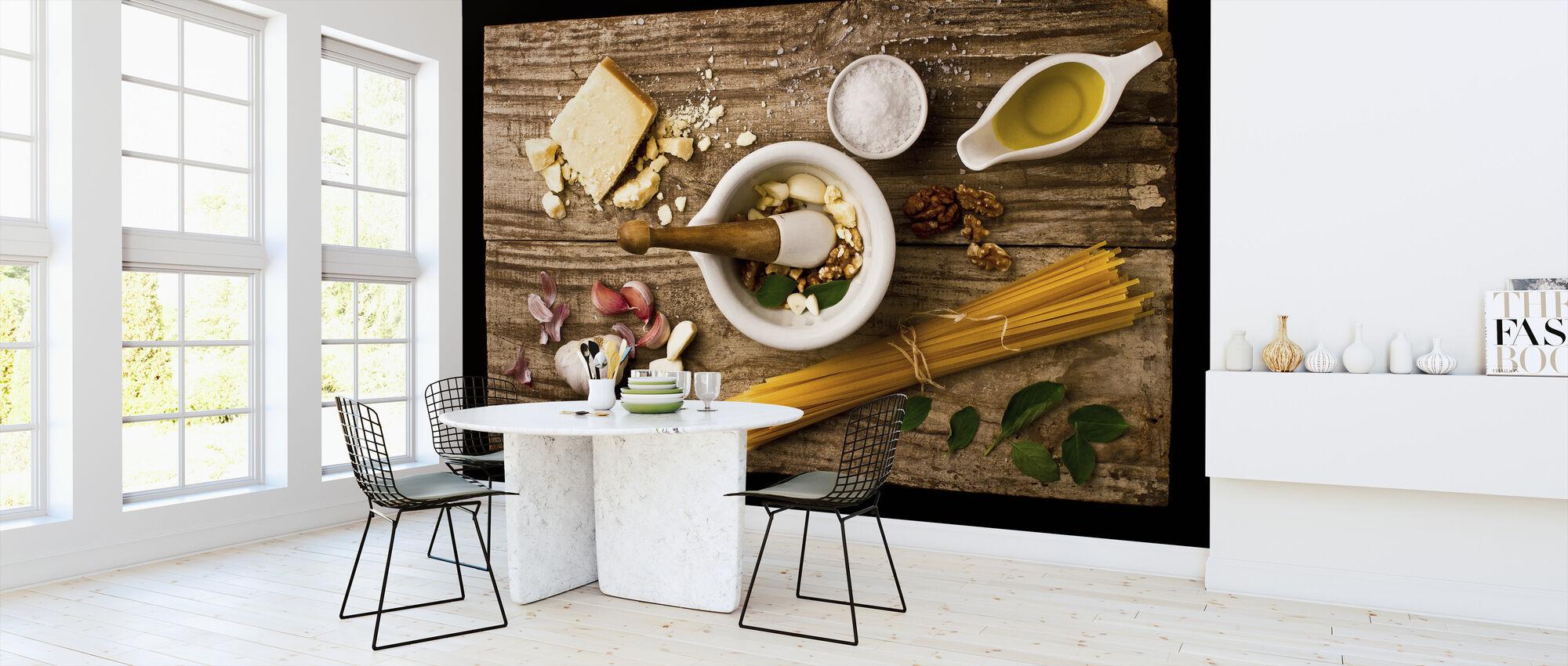Pesto - Wallpaper - Kitchen