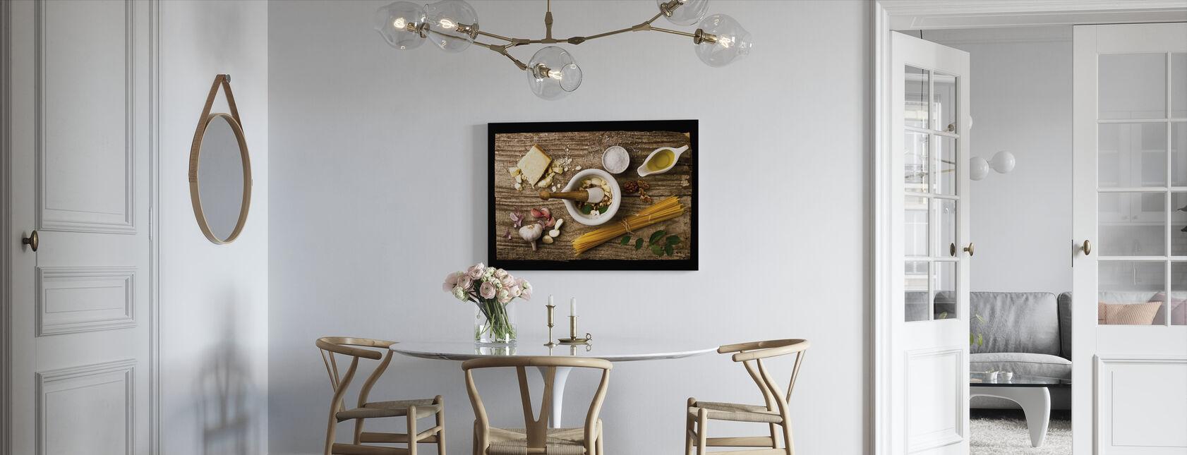 Pesto - Canvas print - Keuken