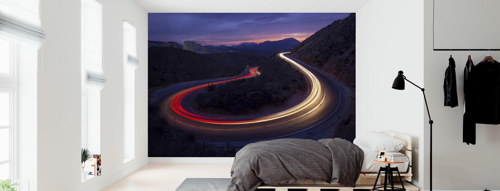 Headlights and Brake Lights - Wallpaper - Bedroom