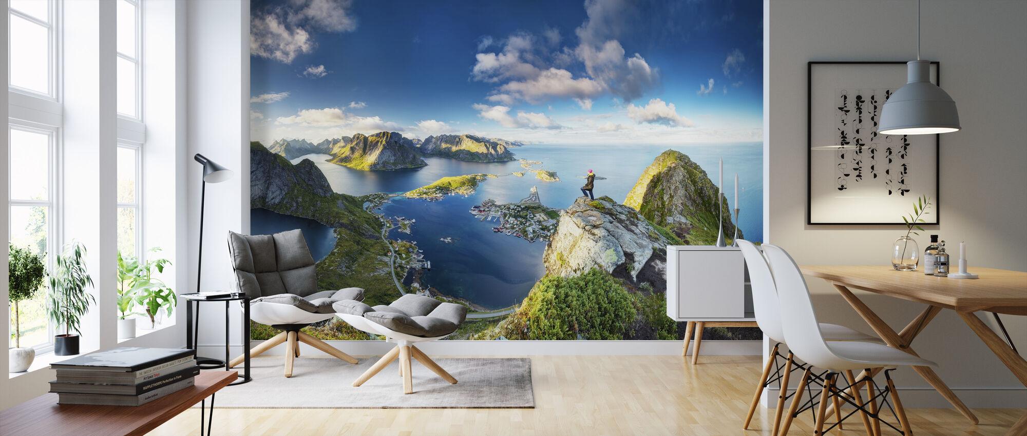 Bringing Views - Wallpaper - Living Room
