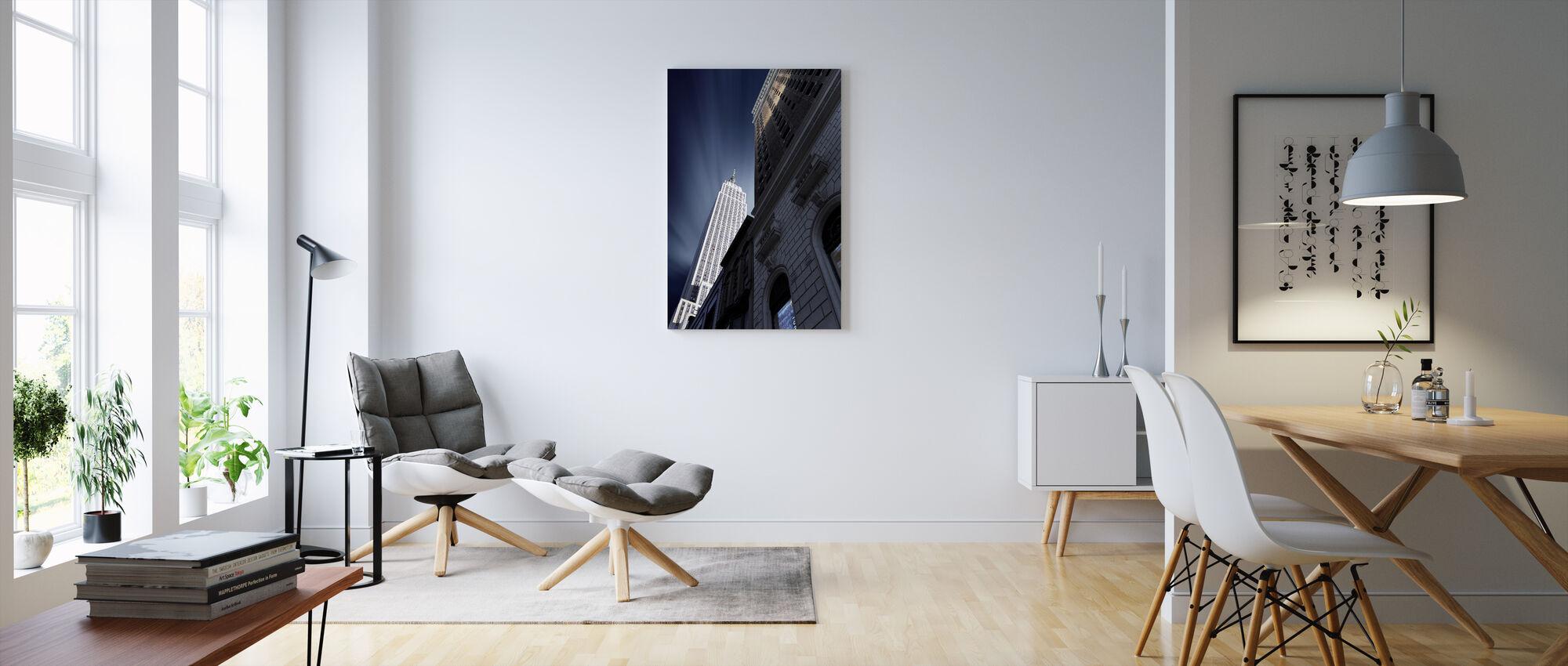 Skyskraper - Lerretsbilde - Stue