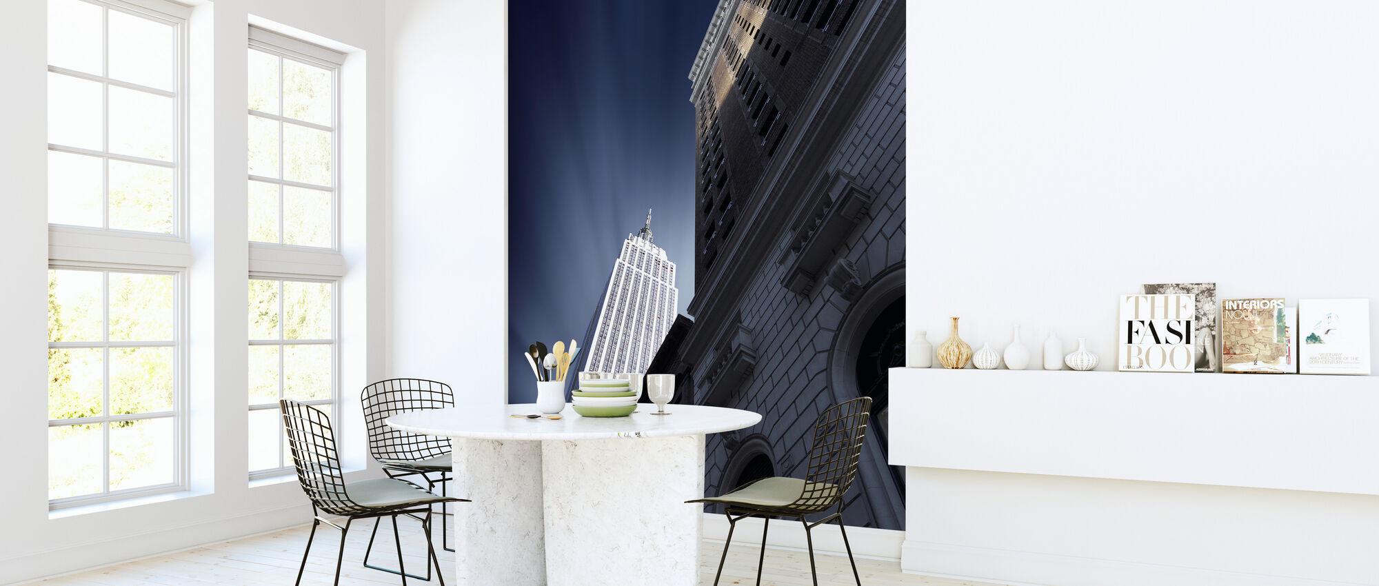 Skyskraper - Tapet - Kjøkken