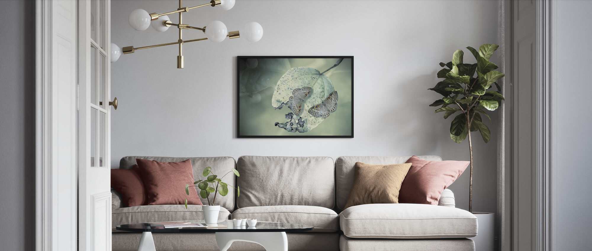 Duet - Framed print - Living Room