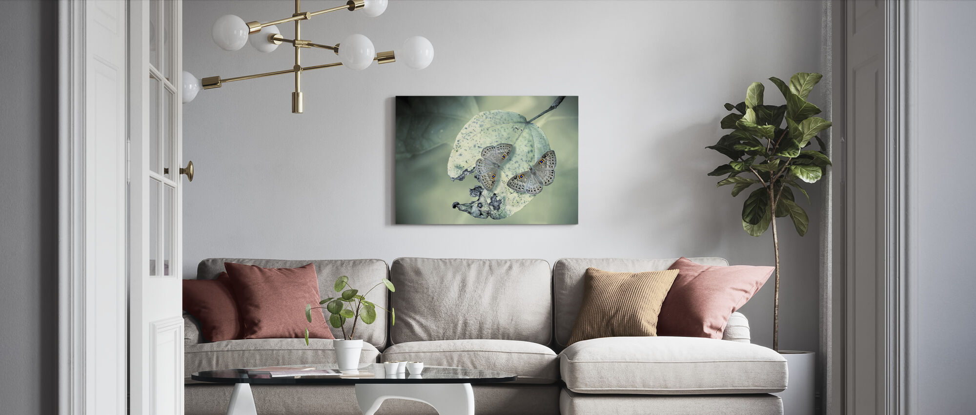 Duet - Canvas print - Living Room