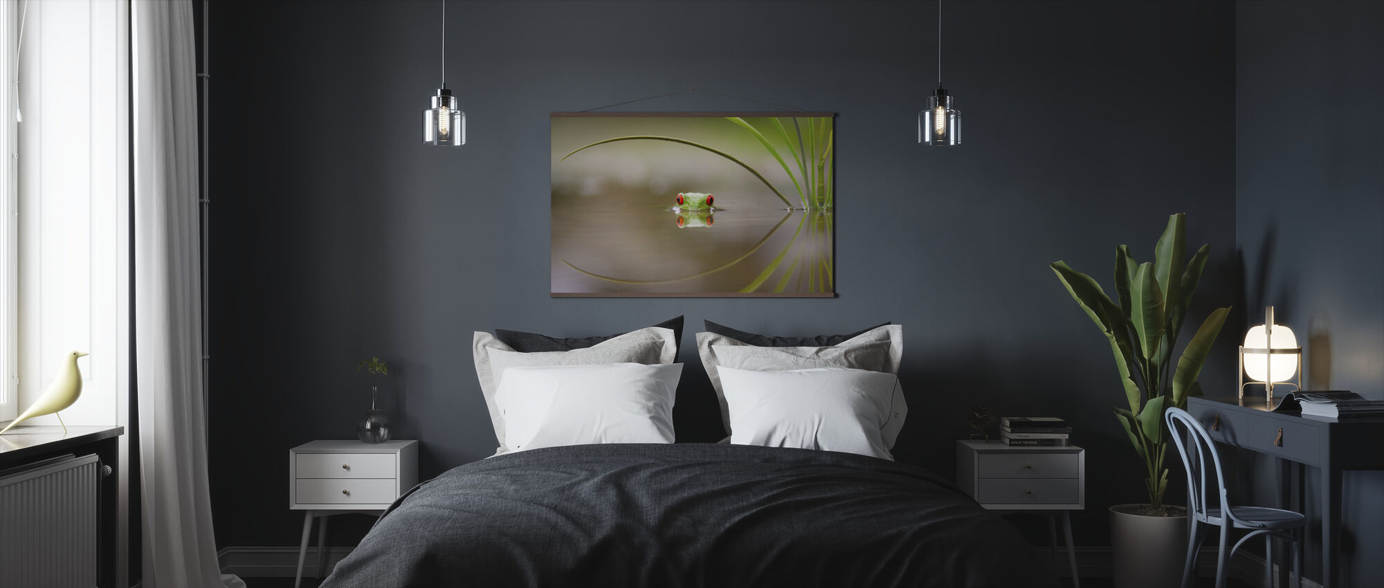 Beauty of Reflection - Poster - Bedroom