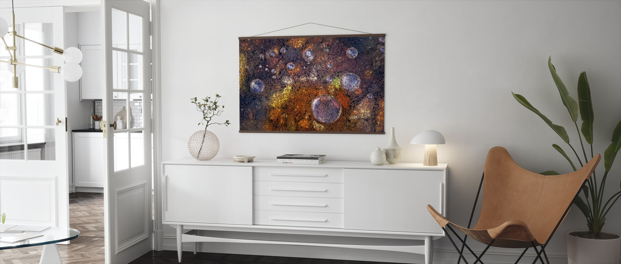 Winter Over Autumn - Poster - Living Room
