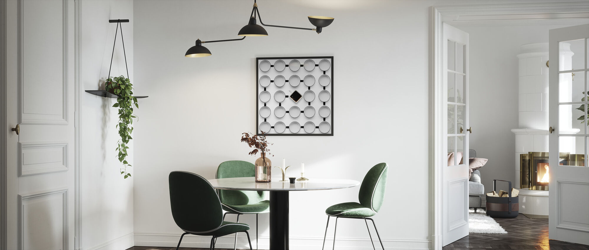 Helix - Framed print - Kitchen