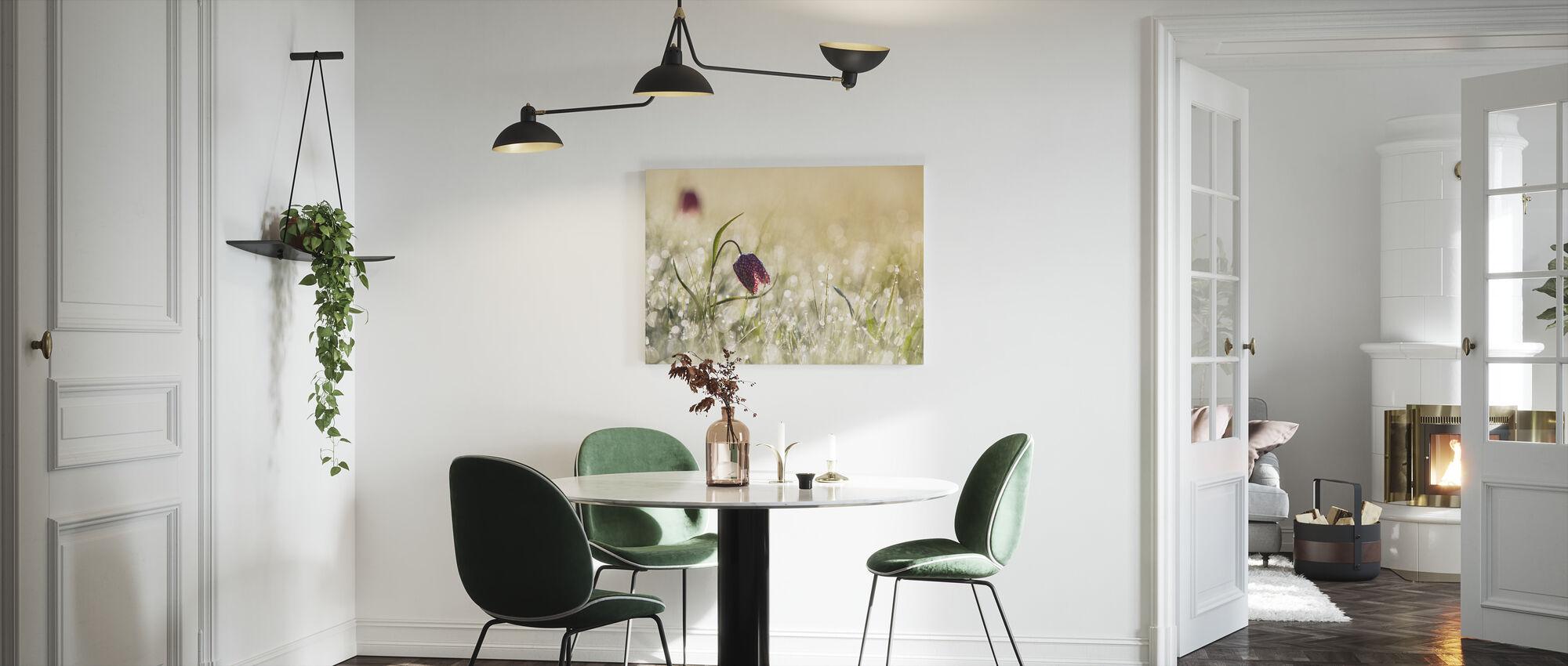 Morning Dew - Canvas print - Kitchen
