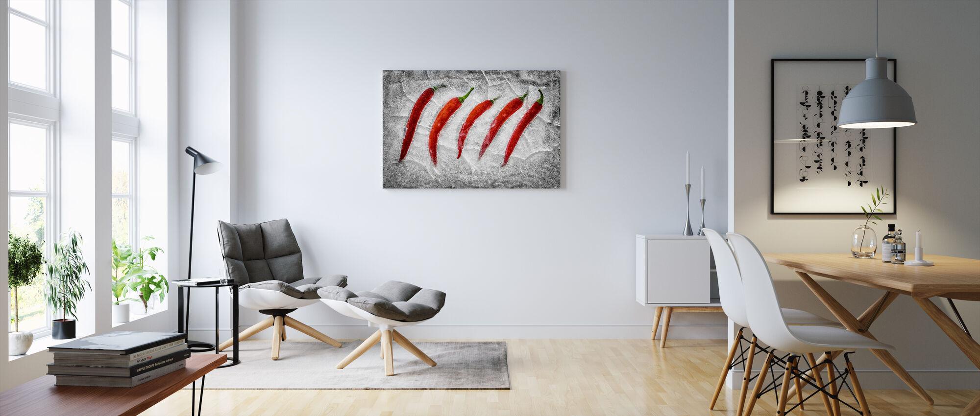 Frozen Fire - Canvas print - Living Room