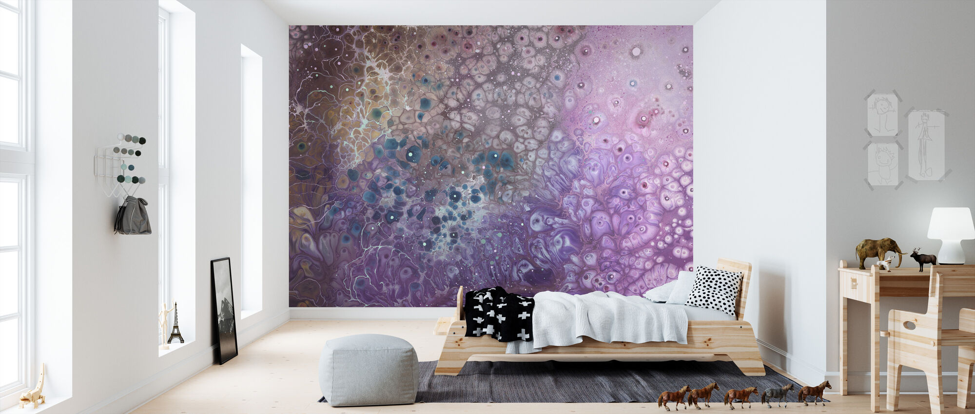 AURA Cosmogony - Wallpaper - Kids Room